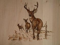 Wood-Burning Art Pyrography | Custom Wood Burning | Wood Burning Art