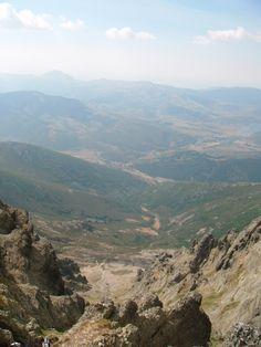 subida al curavacas (montaña palentina)