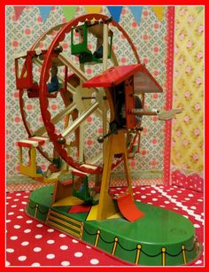 Zetta's Aprons: Heart Like a Wheel...a Ferris Wheel!