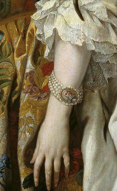 ♔ Princess Elisabeth Farnese of Parma, Queen consort of Spain ~ by Louis-Michel van Loo