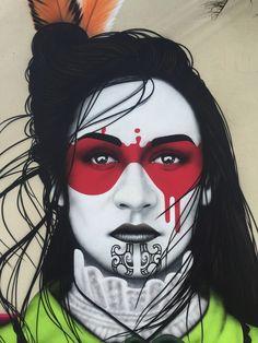 Kurz vor Jahresende beschert uns Street Art-Ikone Fin Dac doch noch ein brandneues Mural in seinem bekannten Signatur-Stil. Neben diversen anderen internationalen Künstlern wie z.B. Sean Yoro aka H…