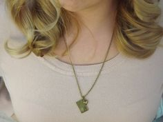 Love Letters Pendant Necklace by throughtheeyesofmrs on Etsy #blackfriday #giveaways