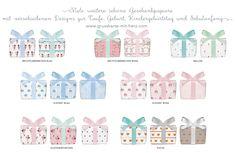 Geschenkpapier für Kids 50 x 70 cm erhältlich bei Grußkarte mit Herz