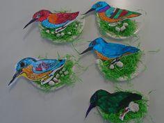 Greek Mythology, Kids And Parenting, Kindergarten, Birds, Winter, Outdoor Decor, Blog, Crafts, Painting