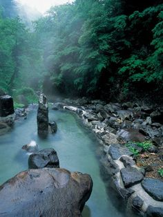 Travel to the Oodaira Hot Spring, Yamagata, Japan
