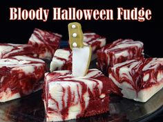 """Meringue bones with """"bloody"""" red velvet pudding: https://www.youtube.com/watch?v=B2qZ4KGkRcs&ab_channel=yoyomax12-thedietfreezone Bloody eyeball cake pops on..."""