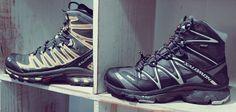 Salomon Black Boots