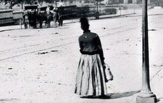 Woman on Princes Street. c1880