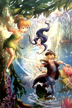 Tinkerbell And Her Friends Have A Tea Party Disney