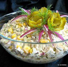Smaczna Pyza: Wielkanoc Veggie Recipes, Salad Recipes, Cooking Recipes, Appetizer Salads, Appetizer Recipes, Mushroom Salad, Healthy Recepies, Polish Recipes, Polish Food
