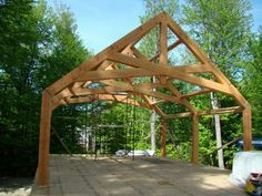 timber frame homes | ... Timber Frame Plans by Davis Frame: Update on Hybrid Timber Frame Home