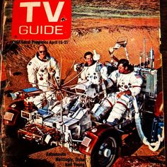 Vintage TV Guide during the Apollo 16 flight to the moon. Apollo 16, Apollo Space Program, Apollo Missions, Nasa History, Space And Astronomy, Vintage Tv, Astronauts, Tv Guide, Space Exploration