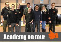 4SELLERS Azubis zu Besuch bei unserem Kunden Sinus24 in Welden. #Ausbildung #4SELLERS #Academy