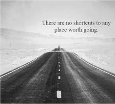 There is no shortcut