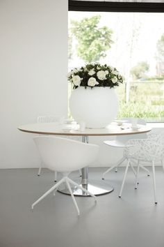 planters for offices White Interior, Pot, Inspiration, Interior Inspiration, Interior, Modern, Modern Design, Color