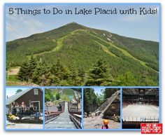 My family and I had the chance to spend the weekend in Lake Placid and we fell in love with the area! Here are 5 Things to Do in Lake Placid with Kids!