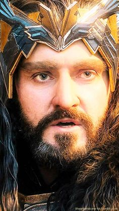 "Thorin Oakenshield. ""Two words: Thorin's armor! (I never thought it possible that he could look even more majestic and sexy than usual!)"""