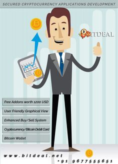 Wish to enhance your Cryptocurrency platform with highly secured???? Don't worry bitdeal offering you to get opportunity to upgrade your bitcoin trading website with Bitcoin Wallet, Bitcoin Investment, Cryptocurrency debit card system, etc.