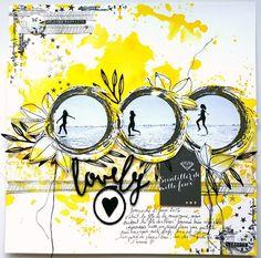 Little moments in my life: Tournoi scrap Lime Citron - Défi Photo Album Scrapbooking, Scrapbook Sketches, Scrapbooking Layouts, Birthday Scrapbook, Scrapbook Albums, Scrapbook Cards, Diy Handmade Album, Lime Citron, Mini Albums