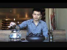 Chinese Tea Ceremony Demonstration: CHA GUAN La Maison du Thé Montréal Tea House - Chinese Tea Ceremony - Yixing clay teapot - YouTube