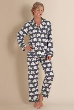 Elephant pajamas Raja PJ from Soft Surroundings