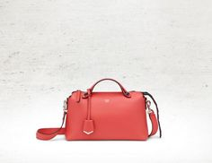 1ac4c9c3522 Obsession of the week  Fendi By The Way coral bag with with black crocodile  tail