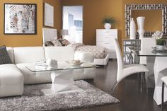 #white #sofas #coffeetables #chairs #tables #chair #livingroom #furniture #dining #mirror #rugs #simplyfurniture #discountfurniture #showroom in #Saugus