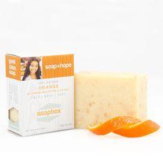 All Natural Bar Soap Orange 4 oz