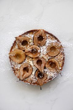 Pear and Almond Pie