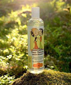 Dread Empire's Deep Cleansing Dreadlock Shampoo Dreadlock Shampoo, Shampoos, Vodka Bottle, Empire, Dreadlocks, Deep, Products, Dreads, Gadget