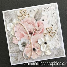 The art of cc Handmade Birthday Cards, Greeting Cards Handmade, Cards For Friends, Friend Cards, Mixed Media Cards, Shabby Chic Cards, Special Birthday, Scrapbook Cards, Scrapbooking