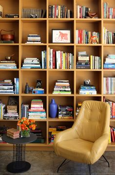 Library  Contemporary by Chimera Interiors, LLC