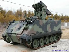M901 ITV = Improved TOW Vehicle, Anti tank (TOW = Tube Launched, Opticaly Tracked,Wire Guided) missile