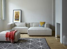 #FestAmsterdam Dunbar sofa + cushion Heart Amber + Syrup quilt. See our full collection on: www.festamsterdam.nl. Photo by Tjitske van Leeuwen. #sofa #dunbar #festamsterdam #modernliving #livingroom #design