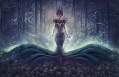 Maleficent by Roderique Arisiaman on Bad Sister, Maleficent, Have A Great Day, Dark Fantasy, Photoshop, Disney Characters, Image, Beautiful, Digital Art
