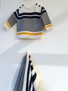 Bold stripes for babies at Marks and Spencer spring /summer 2015