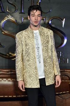 Ezra Miller enthusiastically promotes Fantastic Beasts And Where To Find Them and gushes over playing The Flash wearing costume