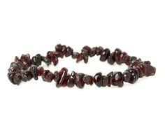 naramok-granat-cerveny-sekany Beaded Bracelets, Jewelry, Fashion, Moda, Jewlery, Jewerly, Fashion Styles, Pearl Bracelets, Schmuck