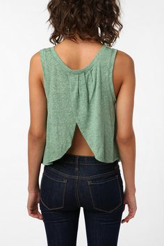 Tulip Back Muscle Tank - $20 at Urban Outfitters