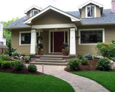 Landscape Front Porch Design, Pictures, Remodel, Decor and Ideas - page 28
