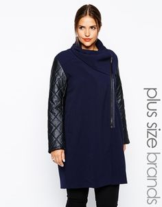 Plus Size Coat - Carmakoma I saw this coat the other day and decided I am adding this to my closet this fall