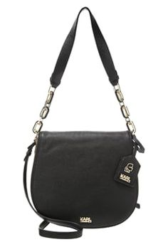 KARL LAGERFELD GRAINY - Handbag - black £295.00 #BestPrice #want #ClothingSale