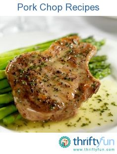 This page contains pork chop recipes. There are many delicious ways of preparing pork chops using the oven, a skillet, or crock pot.