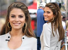 Which hairstyles best suit a round face? I pick the best and worst hairstyles for round face shapes. These won't make your face appear rounder.: Maria Menounos's Gorgeous Braid