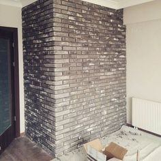 Feature Pillar using Sabbia Brick slips.