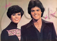 Donny and Marie Osmond...