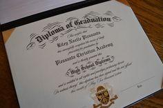 Homeschool diploma from HighschoolDiploma.com