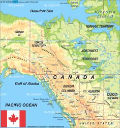 map of canada west canada map in the atlas of the world world atlas