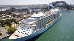 Ovation of the Seas in Sydney