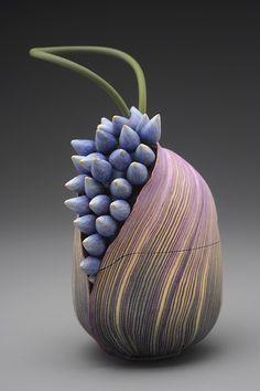 Kathleen Dustin, polymer clay.